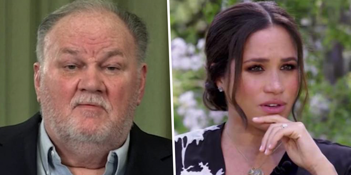 Meghan Markle's Dad Calls Out Her and Harry's Comments as 'BS' and Claims Royal Family Isn't Racist