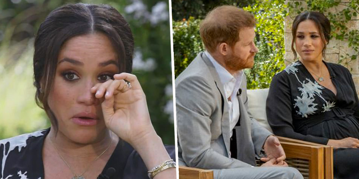 The Unaired Footage of Meghan and Harry's Interview Has Been Released and There's Even More Drama