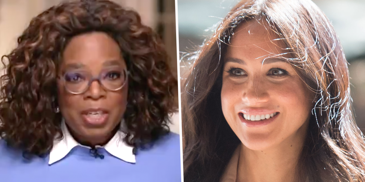 Oprah Reveals the Surprising Text Meghan Markle Sent Her as Historic Interview Was Airing