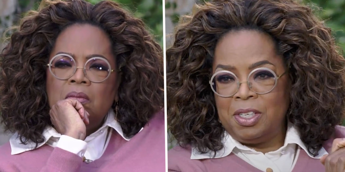QAnon Supporters Think Oprah Wore an Ankle Monitor During Her Interview