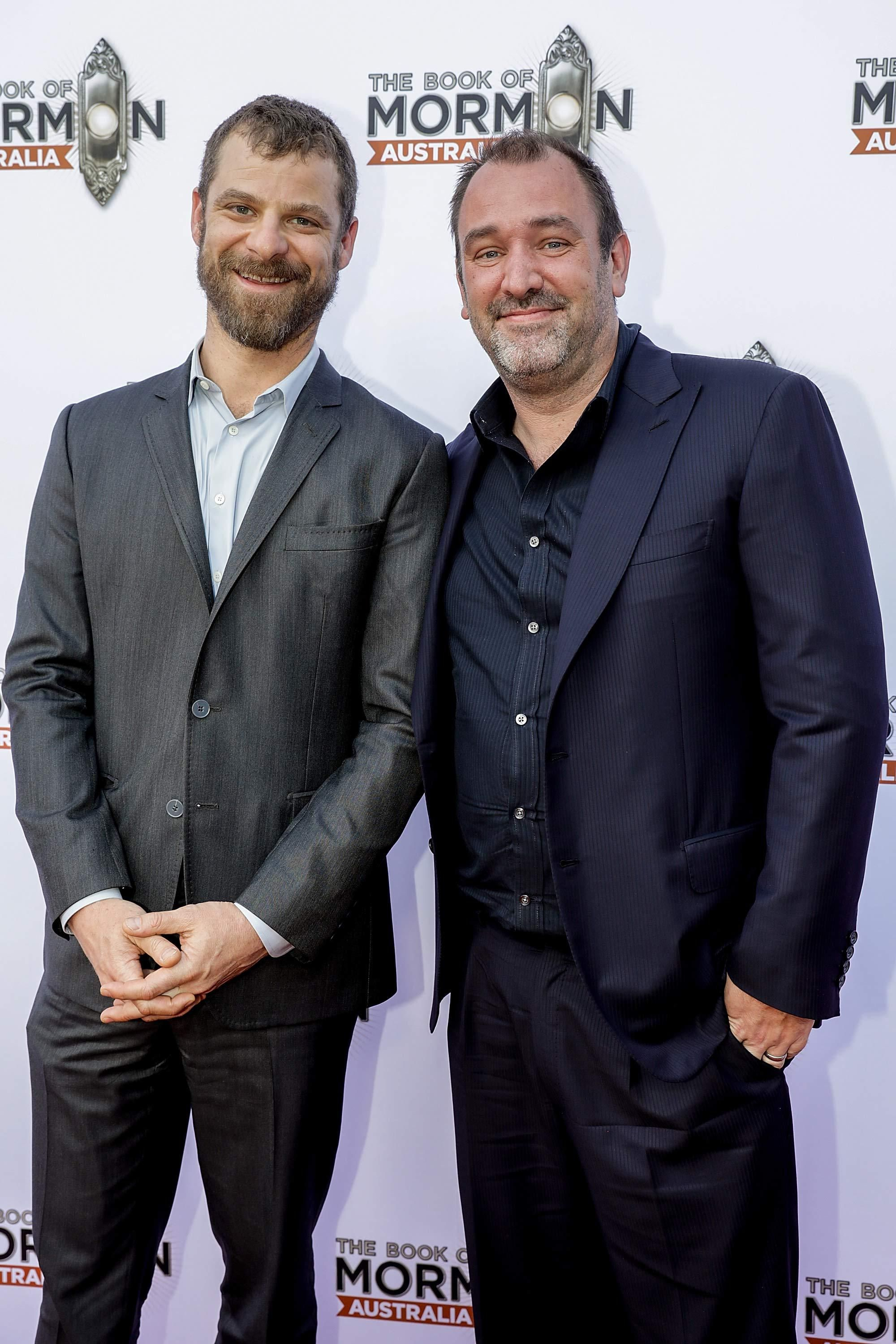 South Park creators Trey Parker and Matt Stone