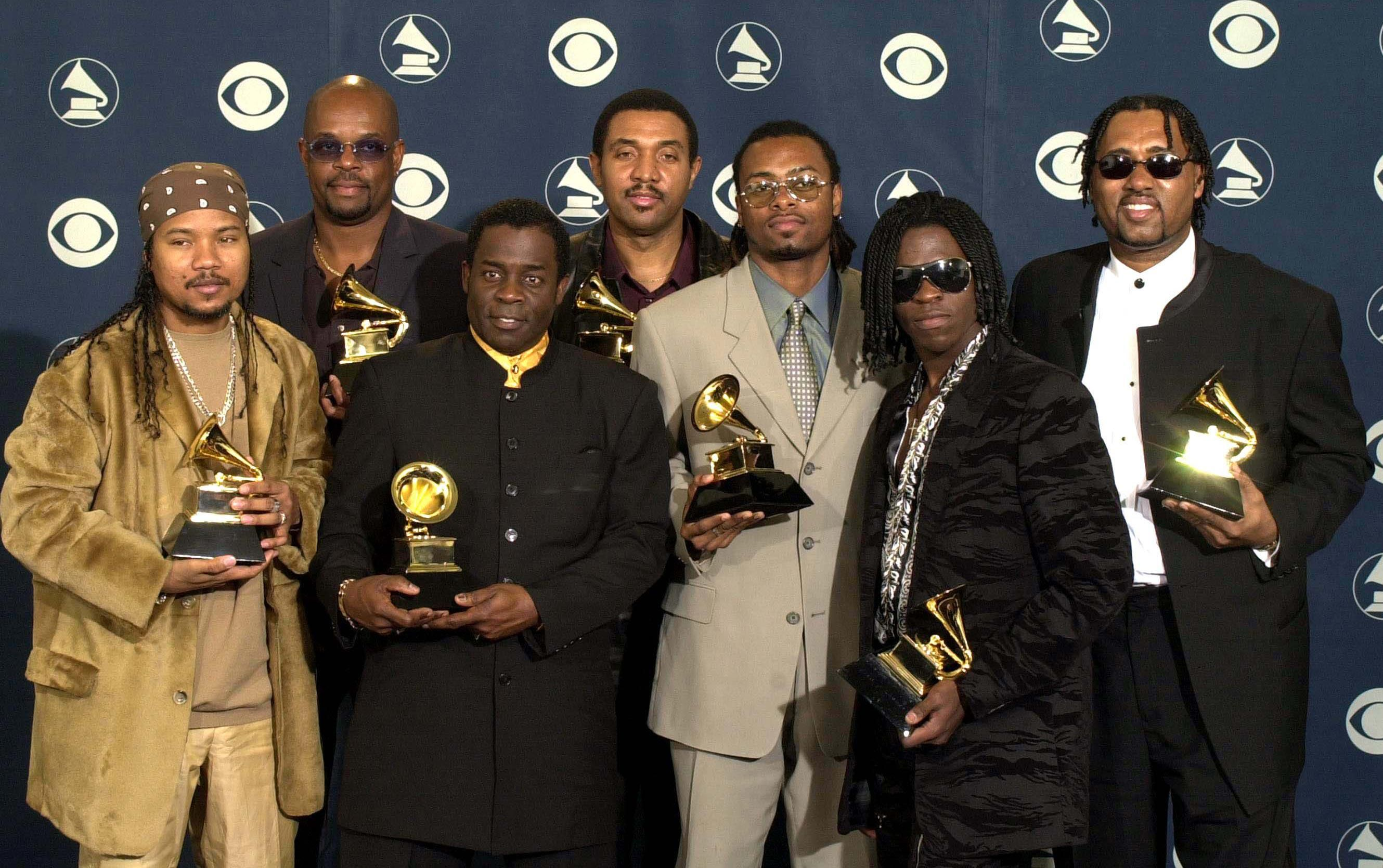 Baha Men with their GRAMMYs
