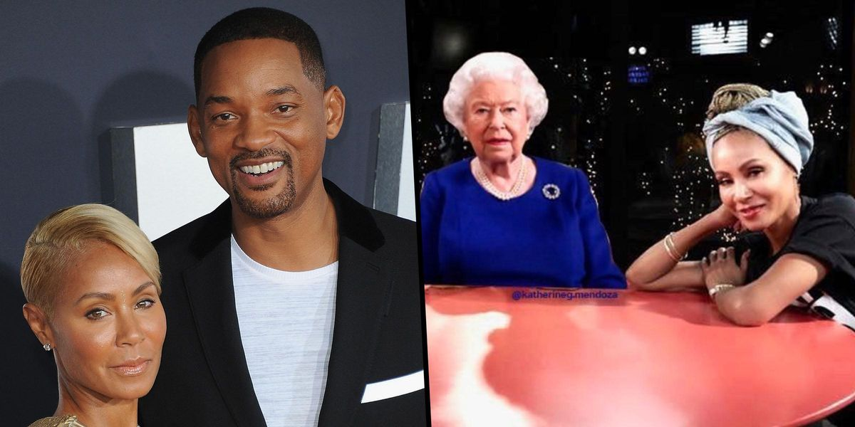 Will Smith's Wife Jada Pinkett Mocks the Queen after Harry and Meghan's Interview Airs