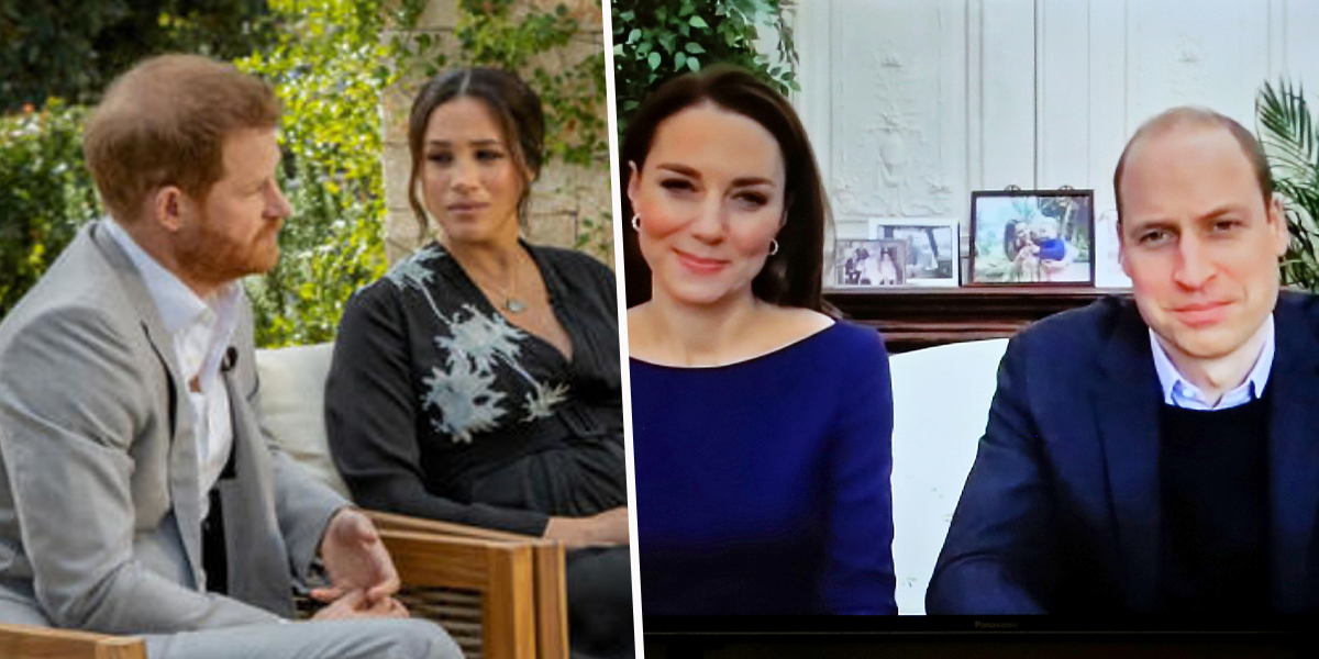 Kate Middleton and Prince William Break Their Silence Following Meghan and Harry's Oprah Interview