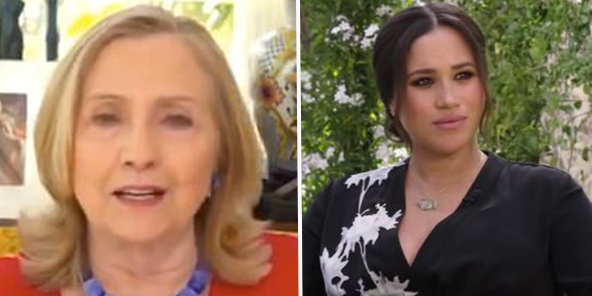 Hillary Clinton Slams the Royal Family, Says the 'Cruelty' to Meghan Was 'Outrageous'