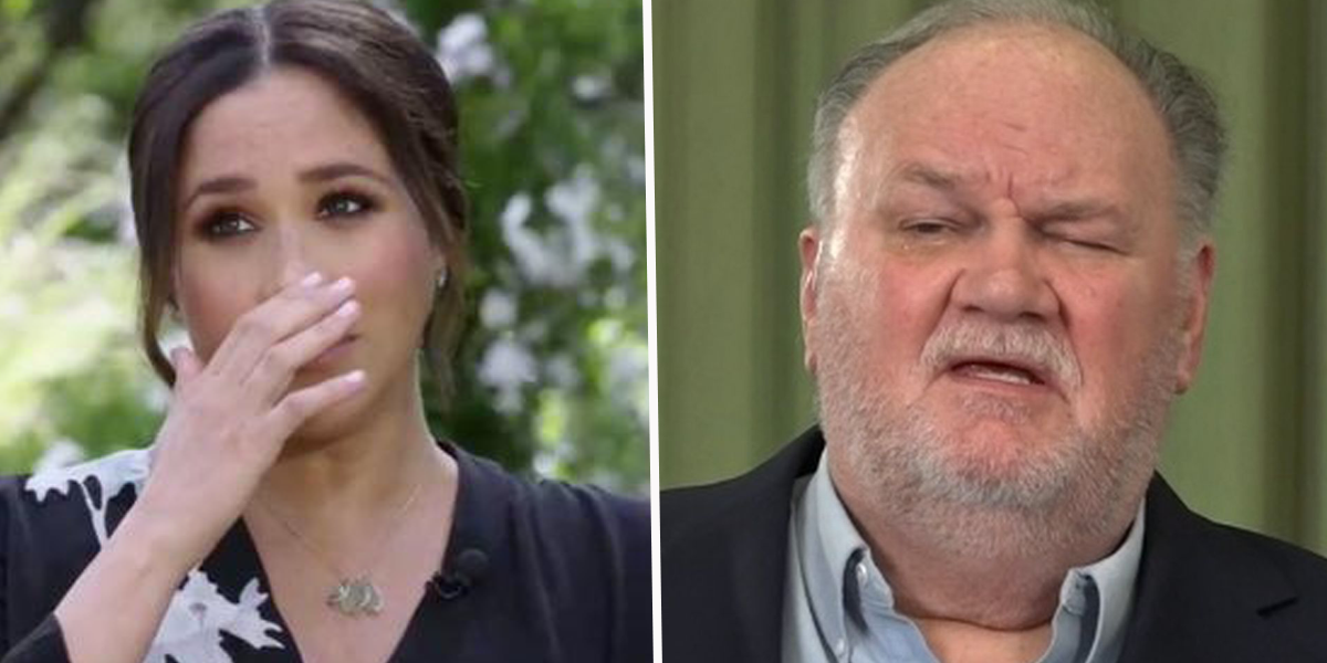 Meghan Markle's Dad Suggests She Wouldn't Have Had 'Psychological Problems' If She Hadn't Ghosted Her Family