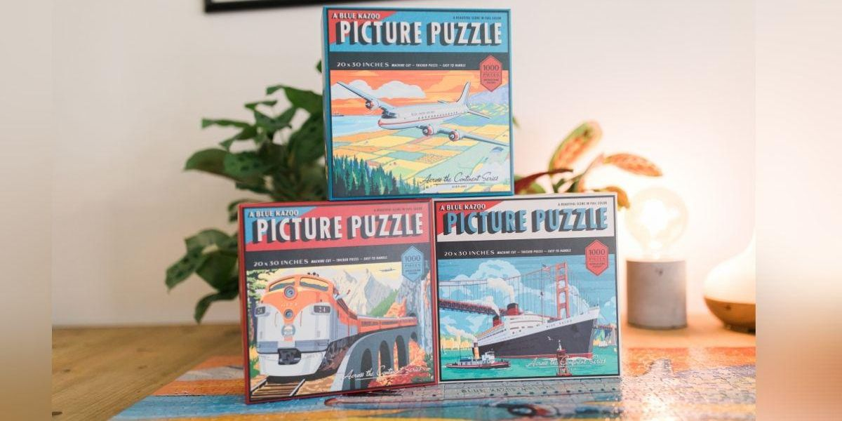 Blue Kazoo's Latest Jigsaw Puzzle Series Is A Throwback to the 1930's