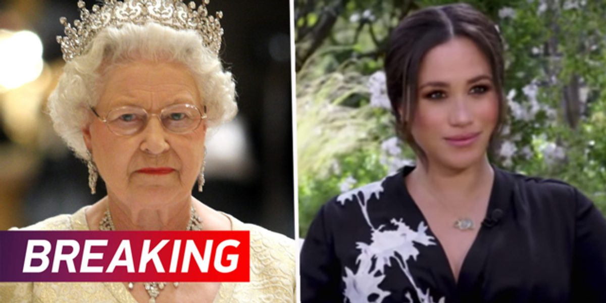 Royal Family Respond To 'Concerning' Racism Allegations Made by Meghan and Harry