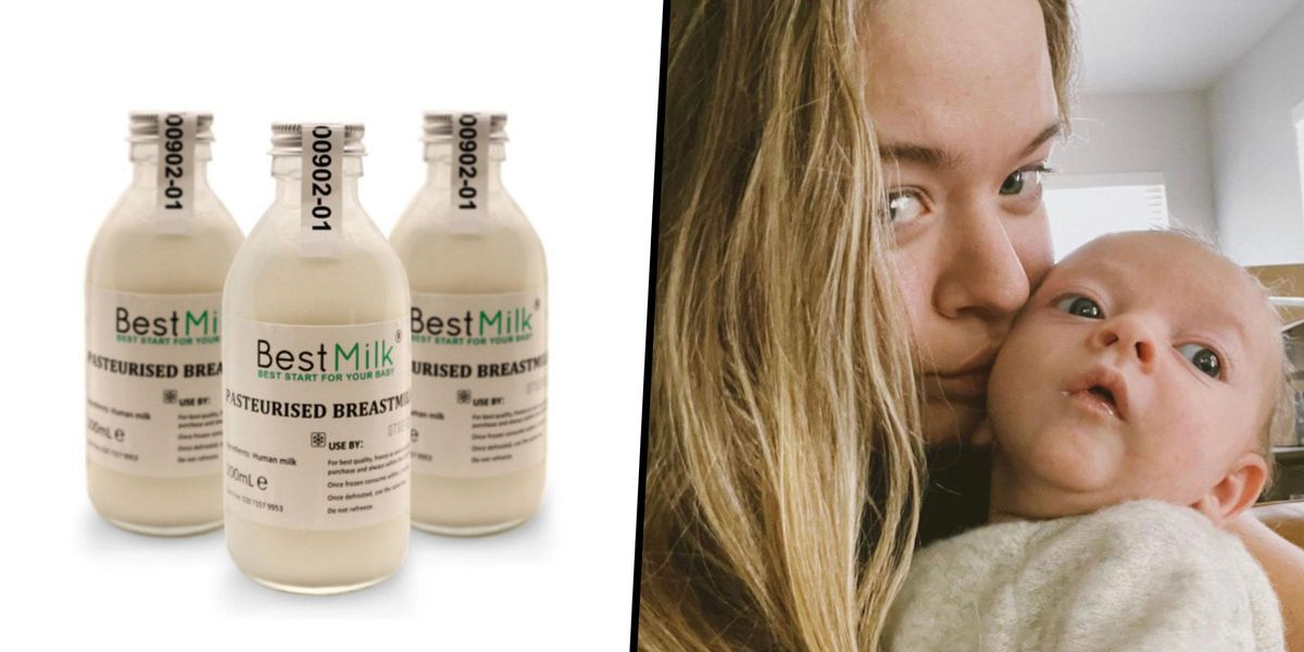 You Can Now Get Breastmilk Delivered to Your Front Door