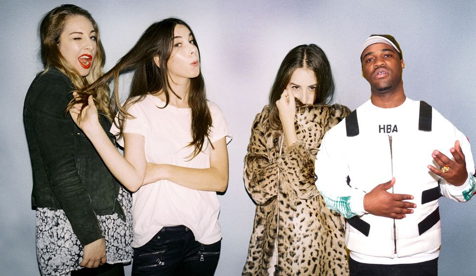 "HAIM's ""My Song 5"" Gets a Verse From A$AP Ferg"