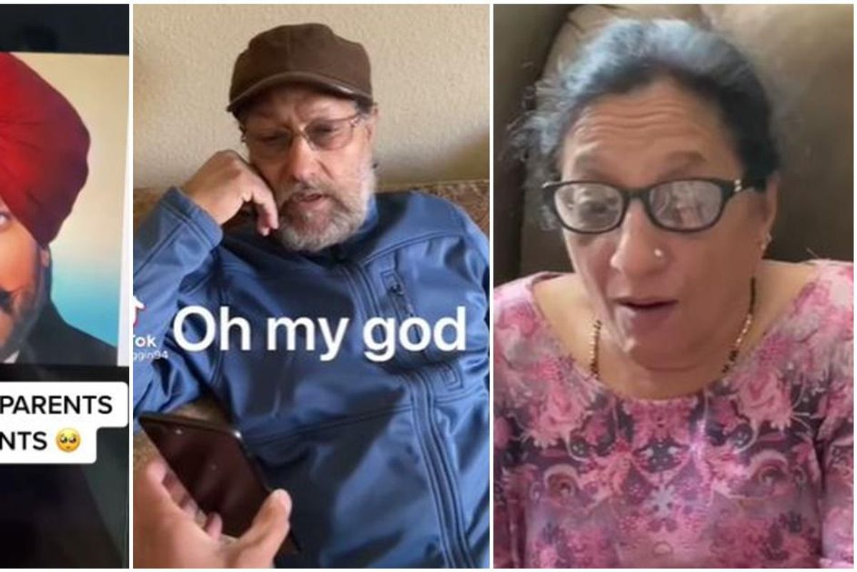 Watch these reactions of people seeing relatives come 'back to life' in new app
