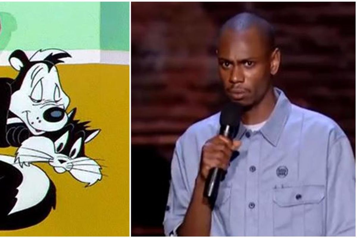 Pepé Le Pew just got canceled, but Dave Chappelle saw it coming 20 years ago.
