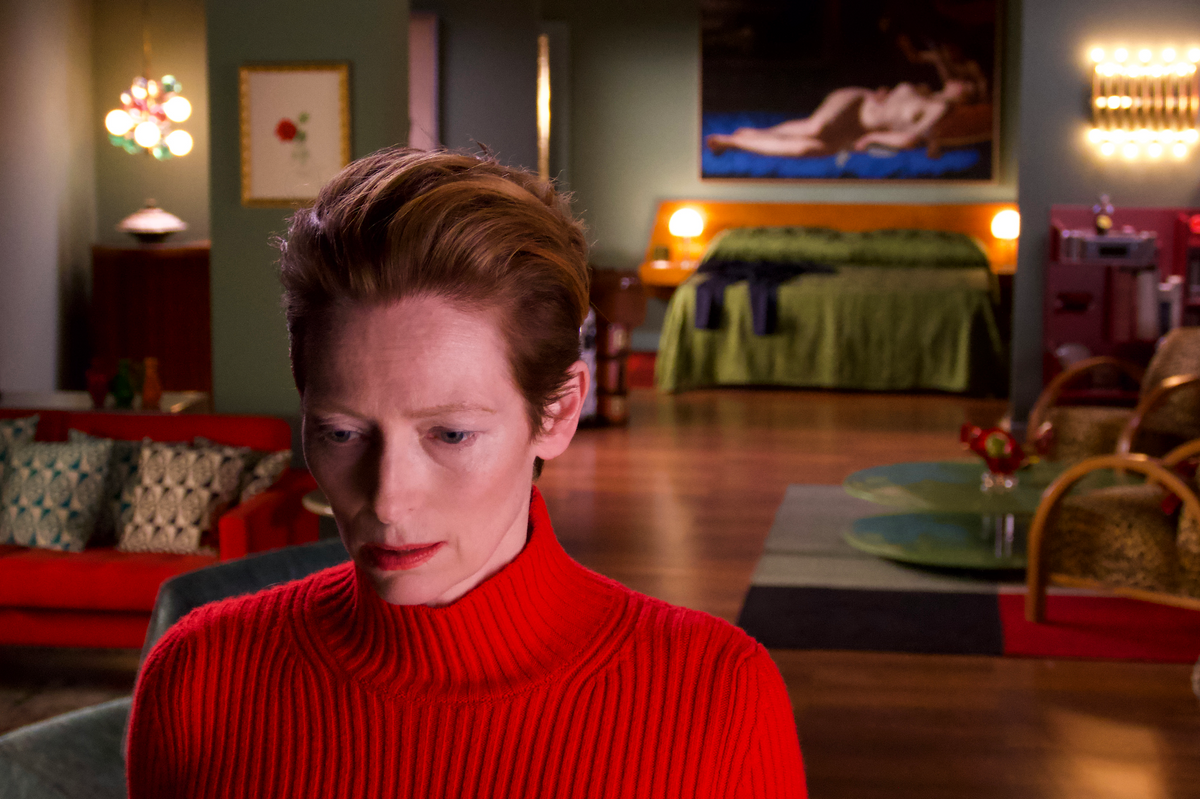 Tilda Swinton Is All Dressed Up and Nowhere to Go