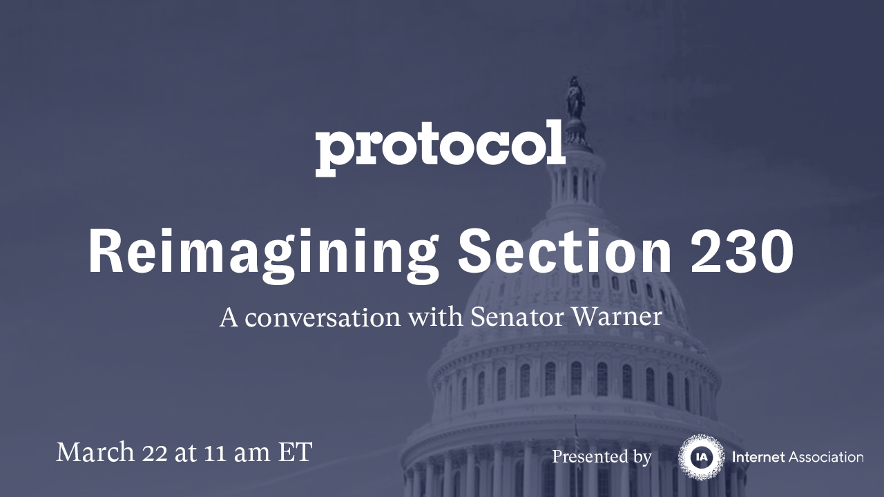 Protocol Reimagining Section 230