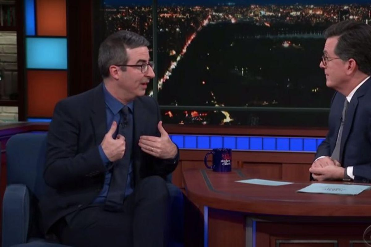 John Oliver predicted Meghan Markle's future challenges with the Royal Family back in 2018