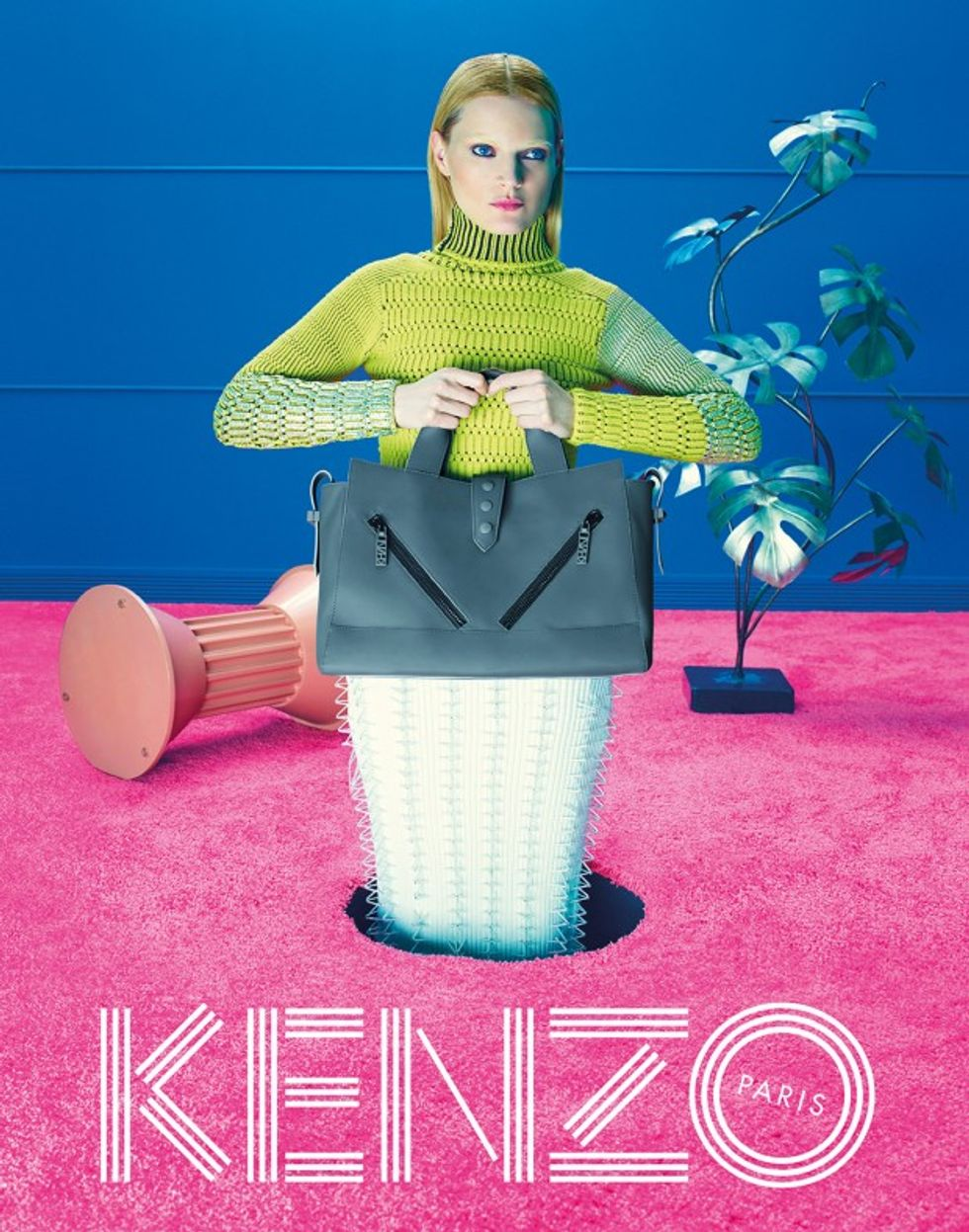 Trip the Light Fantastic With Kenzo's New David Lynch-Inspired Campaign