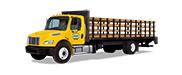 金沙网址Penske平板卡车