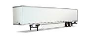 Penske semi trailer