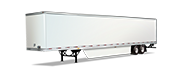 Penske semi trailer