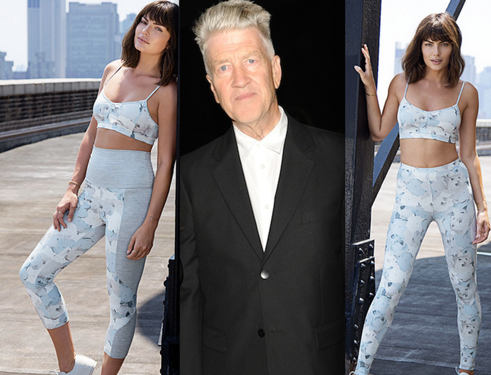-- UPDATED: No He's Not -- David Lynch Is Now Designing Women's Workout Clothes