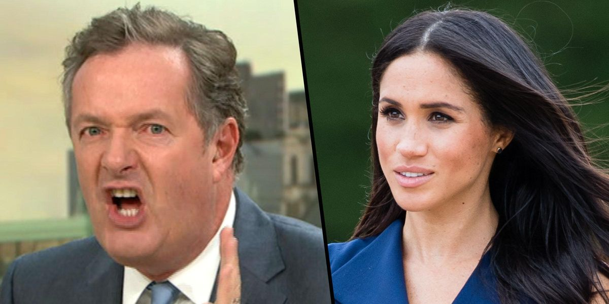 Meghan Markle Reportedly Filed a 'Formal Complaint' after Piers Morgan's Mental Health Comments