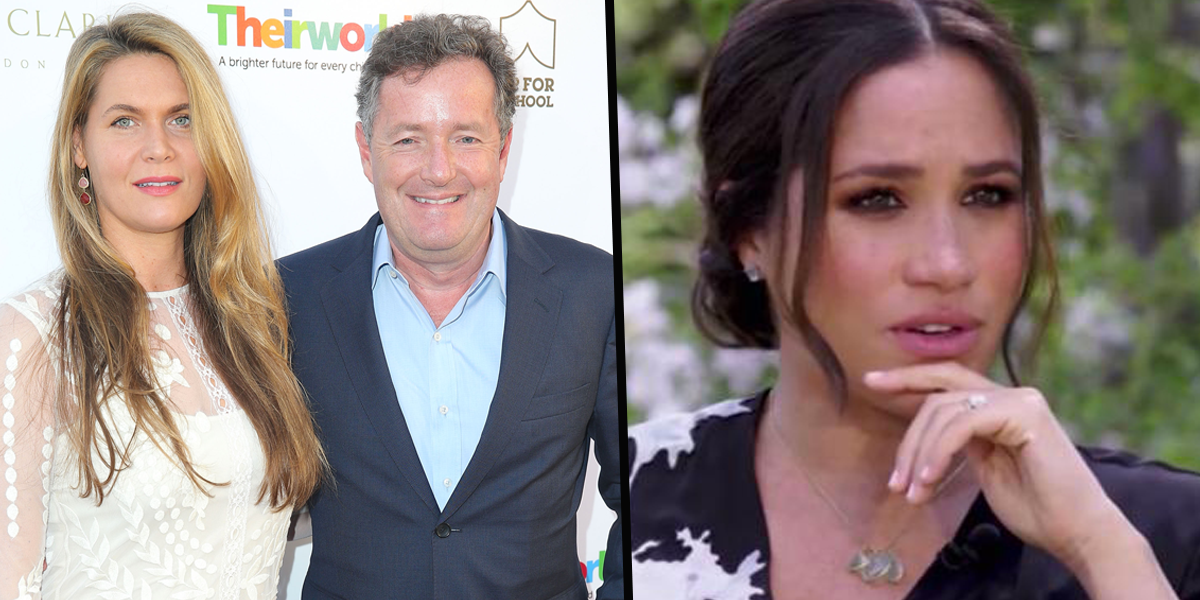 Piers Morgan's Wife Claims Meghan Markle 'Acted' Throughout Her Interview With Oprah