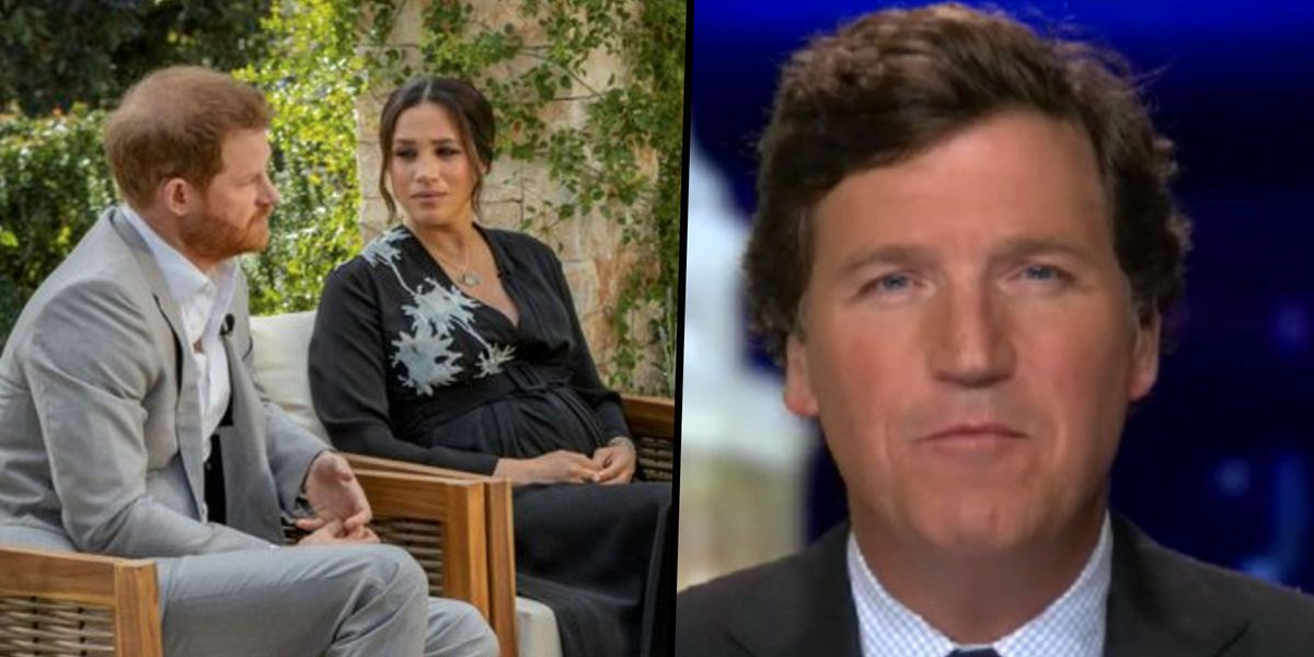 Tucker Carlson Slams Meghan Markle and Oprah, and Even Drags Michelle Obama Into It