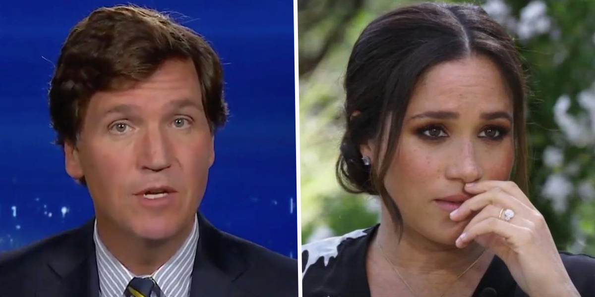 Tucker Carlson Calls Meghan Markle a 'Narcissist' and Slams Oprah and Michelle Obama