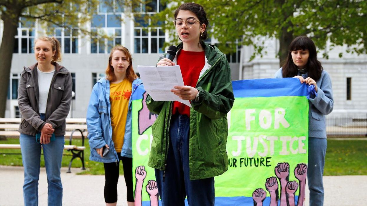 Youth Climate Activists Change Legal Strategy