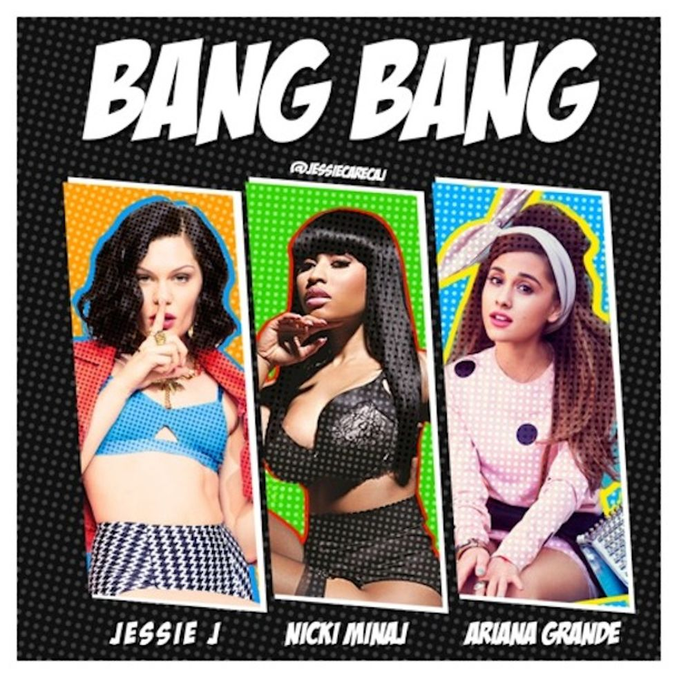 "Jessie J's ""Bang Bang"" With Nicki Minaj and Ariana Grande Is Your Monday Antidote"