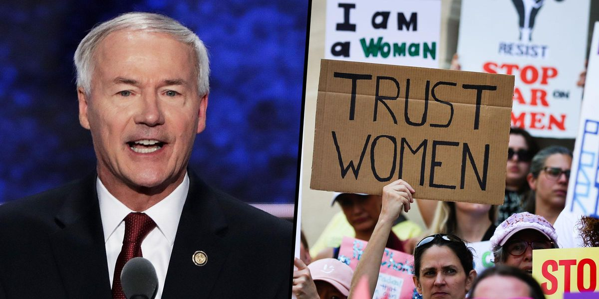 Arkansas Governor Signs Law Banning Almost All Abortions