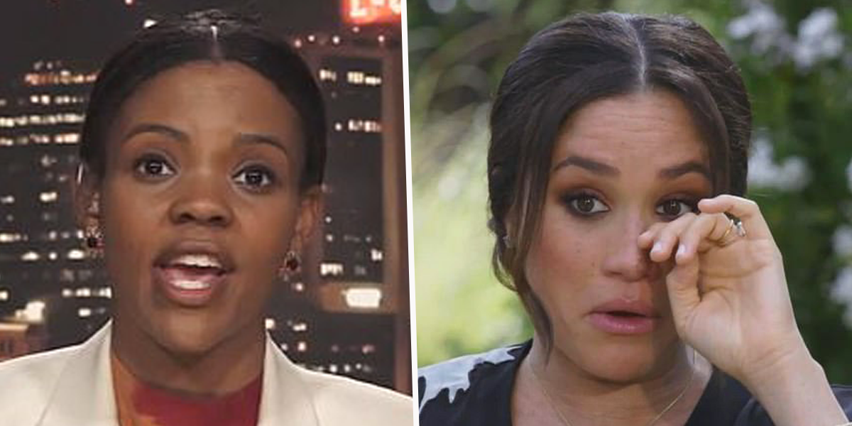 Candace Owens Tears into 'Narcissist' Meghan Markle and Calls Her a Liar