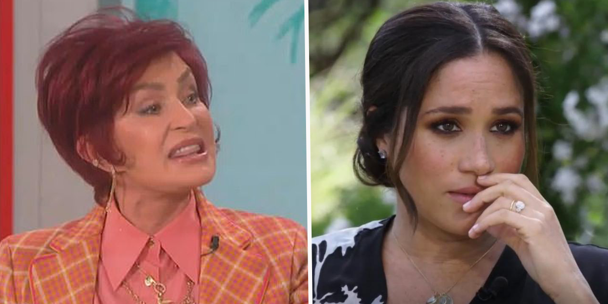 Sharon Osbourne Fiercely Defends Piers Morgan for Calling Meghan Markle a Liar