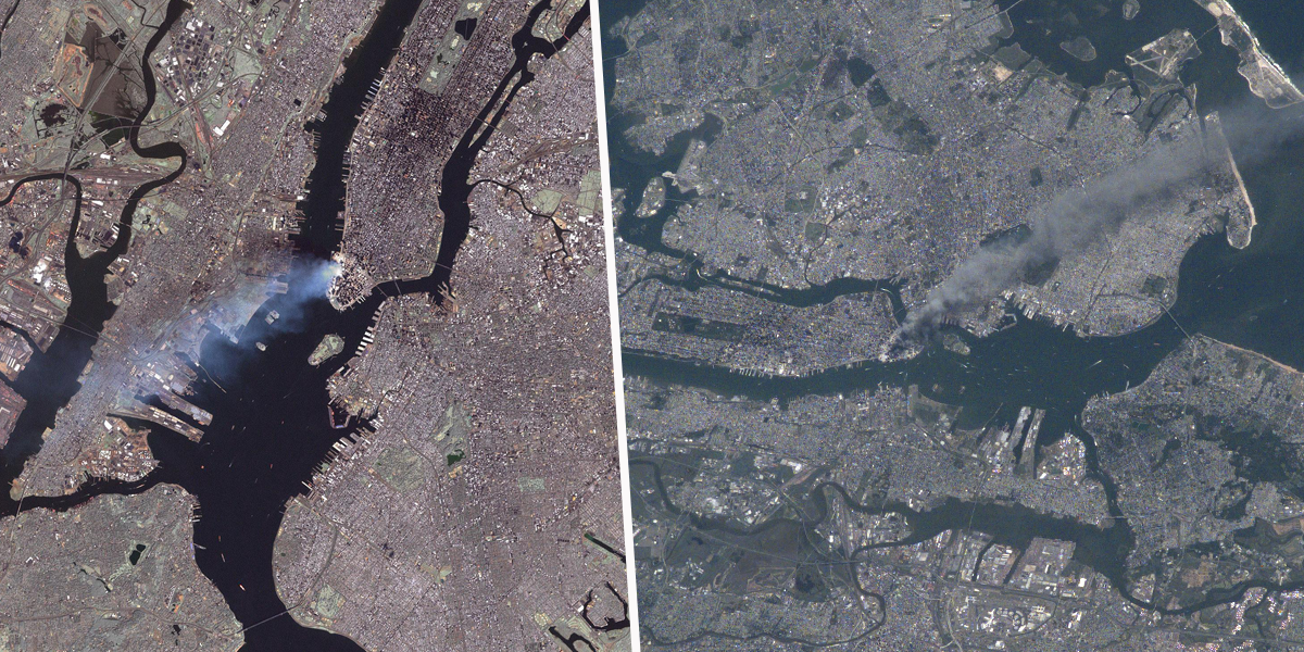 Shocking Moment Astronaut Watches South Tower Collapse From Space During 9/11