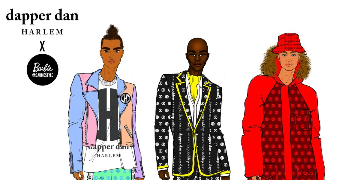 Dapper Dan Creates Custom Ken Doll Looks Inspired by Harlem