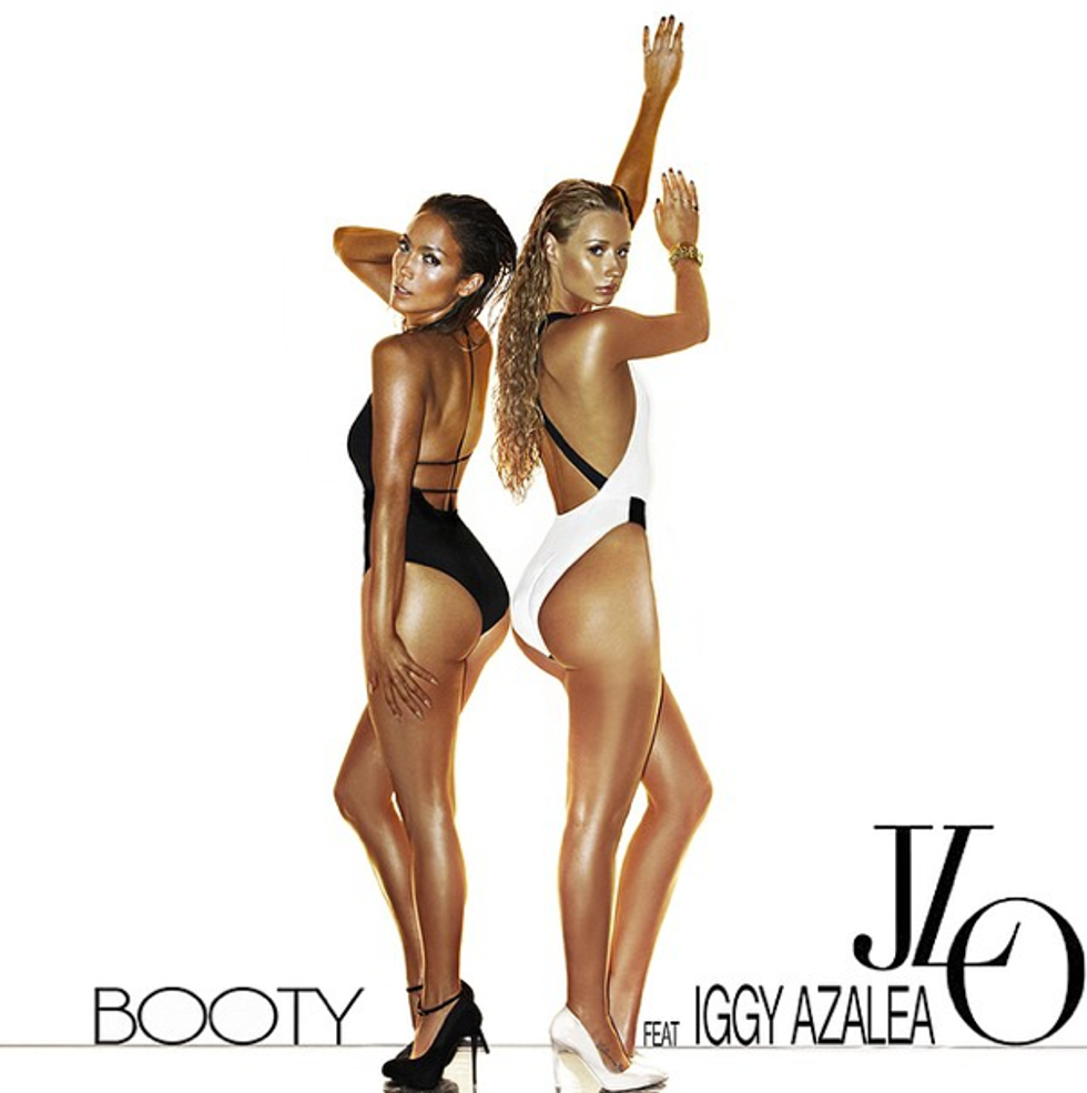 """Listen to a Remix of J. Lo's """"Booty"""" Featuring Iggy Azalea"""