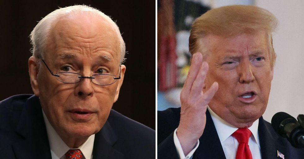 Richard Nixon's Watergate Counsel Thinks It's 'Only A Matter Of Days' Before Trump Is Indicted