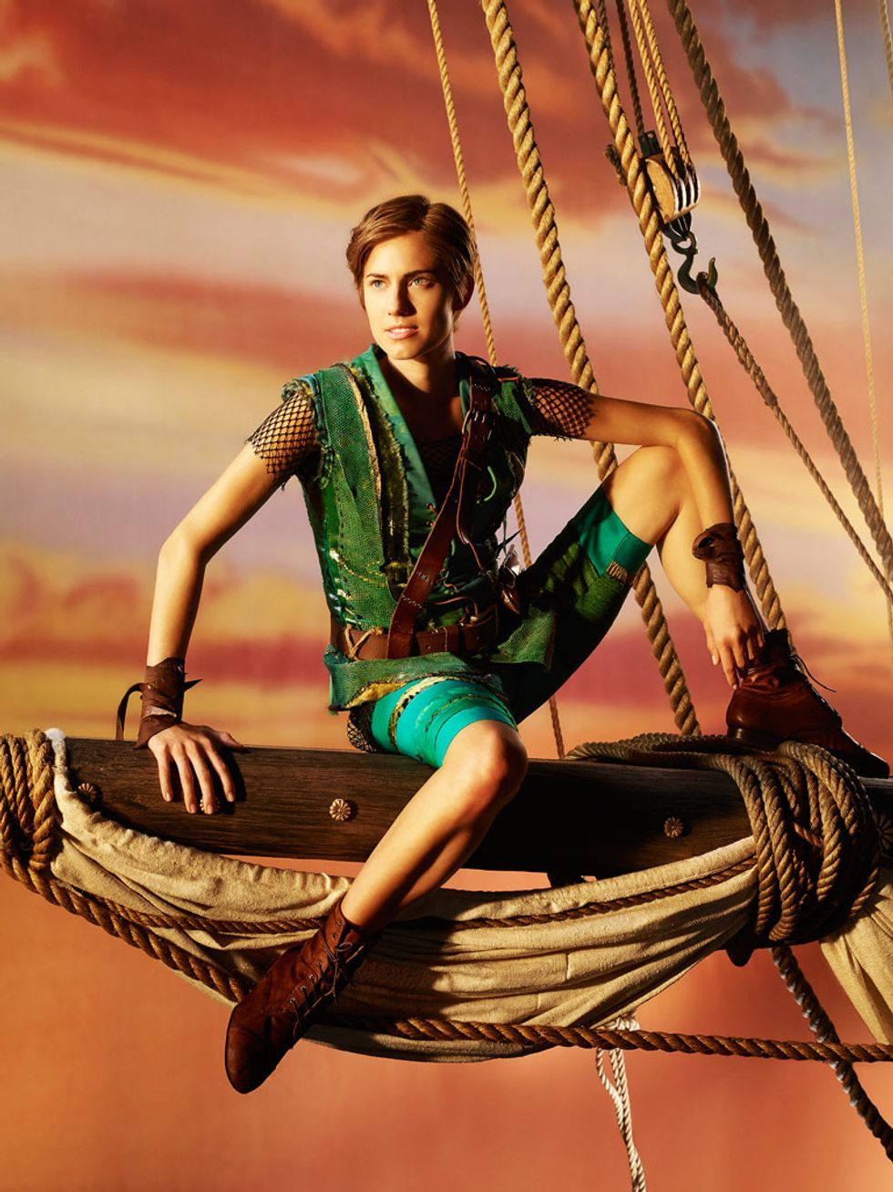 Some Observations on Allison Williams' New Peter Pan Photo