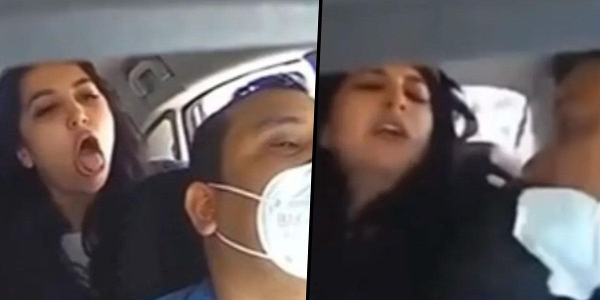 Anti-Masker Who Coughed on Uber Driver and Ripped off His Face Mask Arrested