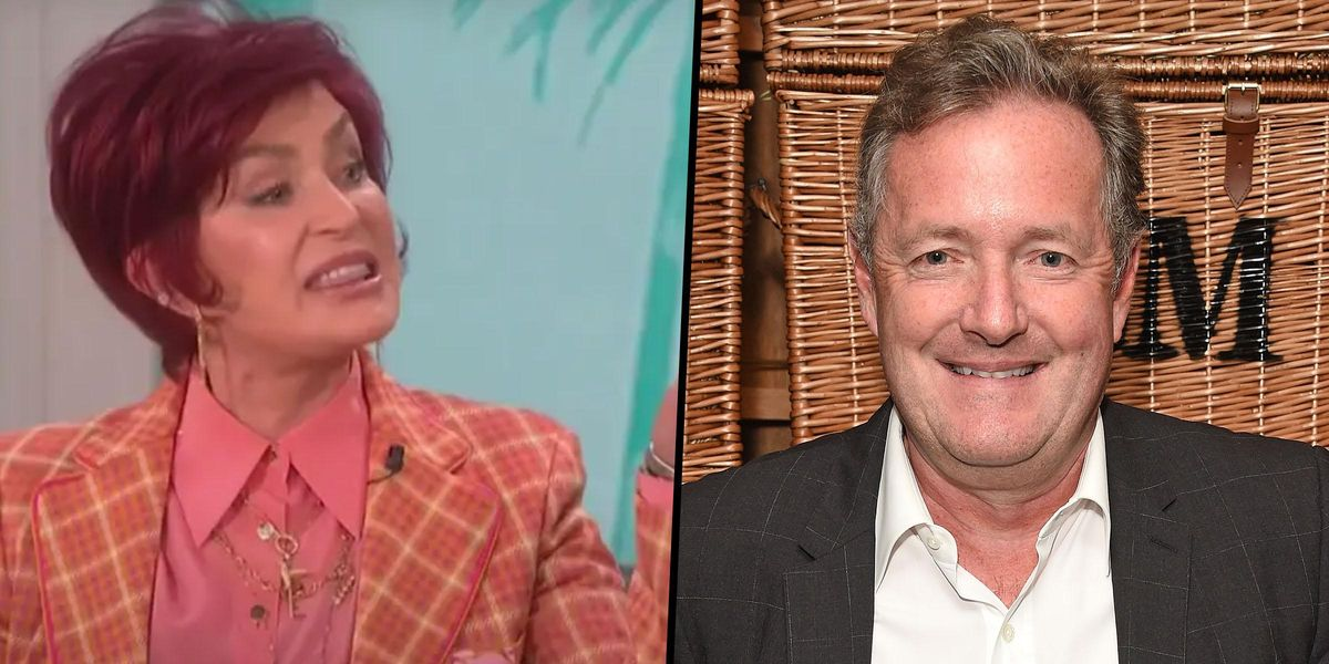 Piers Morgan Demands Apology From CBS's 'The Talk' After It 'Shamed and Bullied' Sharon Osbourne