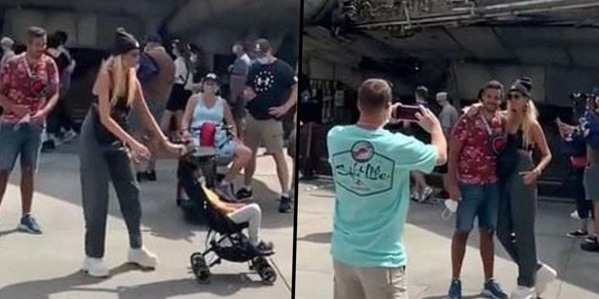 People 'Disgusted' Over Video of Parents Pushing Their Child Out of the Way To Get a Better Photo at Disney World
