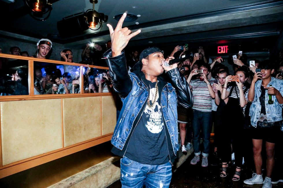 Ja Rule Makes a Surprise Appearance at Essential Homme's NYFW Party