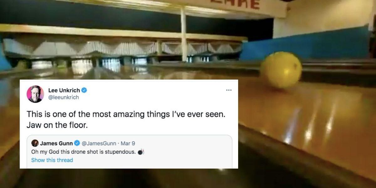 Seemingly impossible drone footage in Minneapolis bowling alley ad stuns top filmmakers - Upworthy