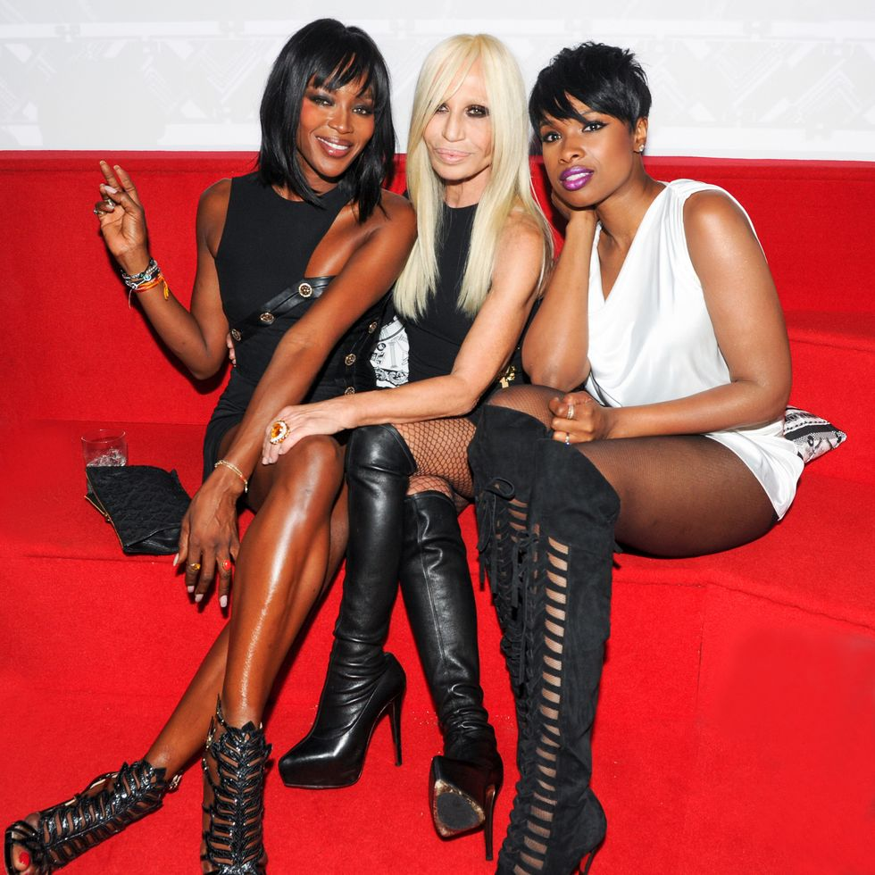Rihanna, Nicki, Naomi and More Party With Donatella at the Versus Versace After-Party
