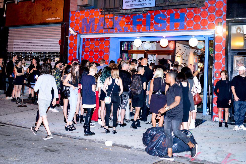 Pics from Frank151 x DKNY's Mega Bash at Max Fish