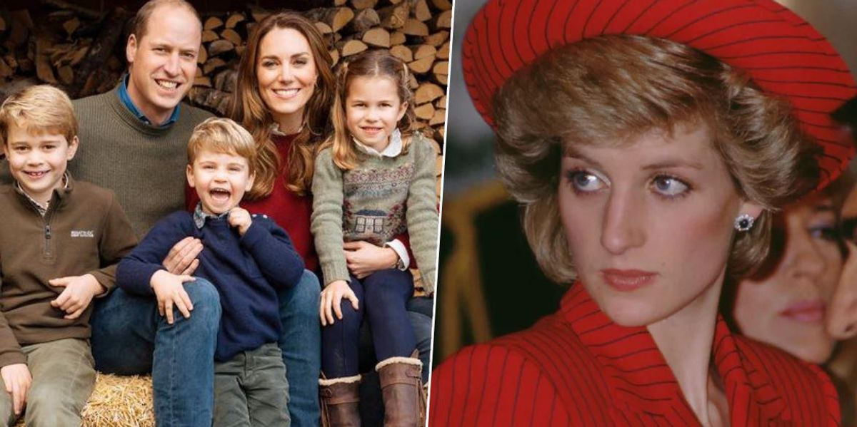 Charlotte and George Write Adorable Mother's Day Card to 'Granny Diana'