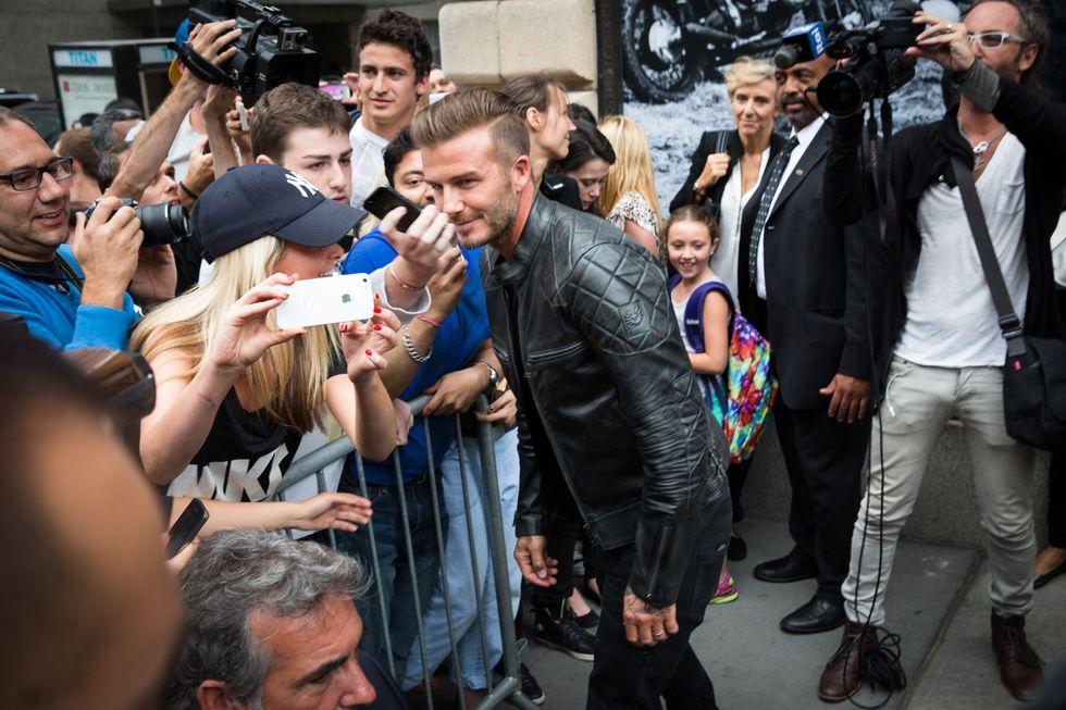 Beckham Does Belstaff
