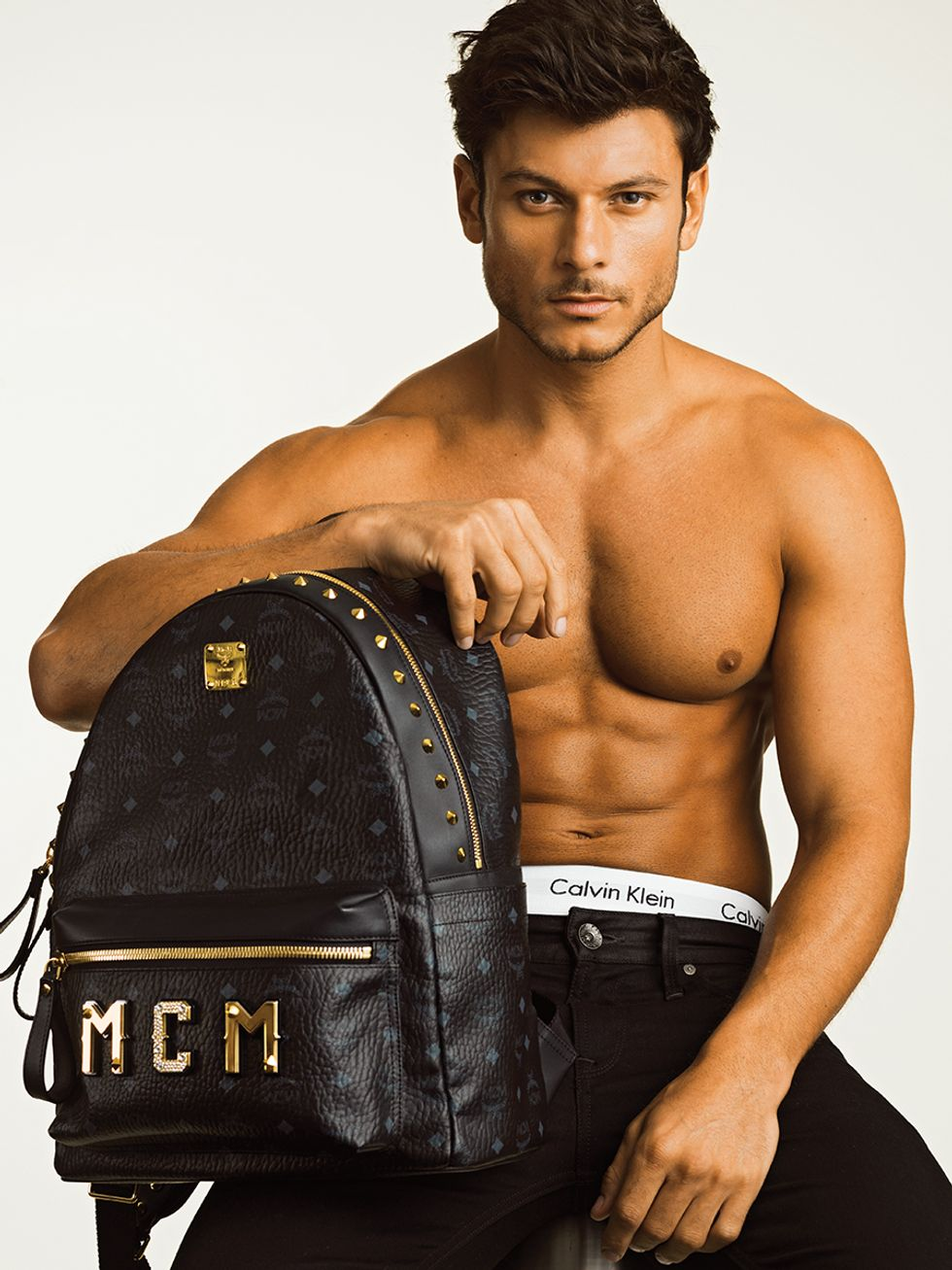 #MCM X MCM: Meet Our Favorite Shirtless Hunk and Our Favorite Backpack