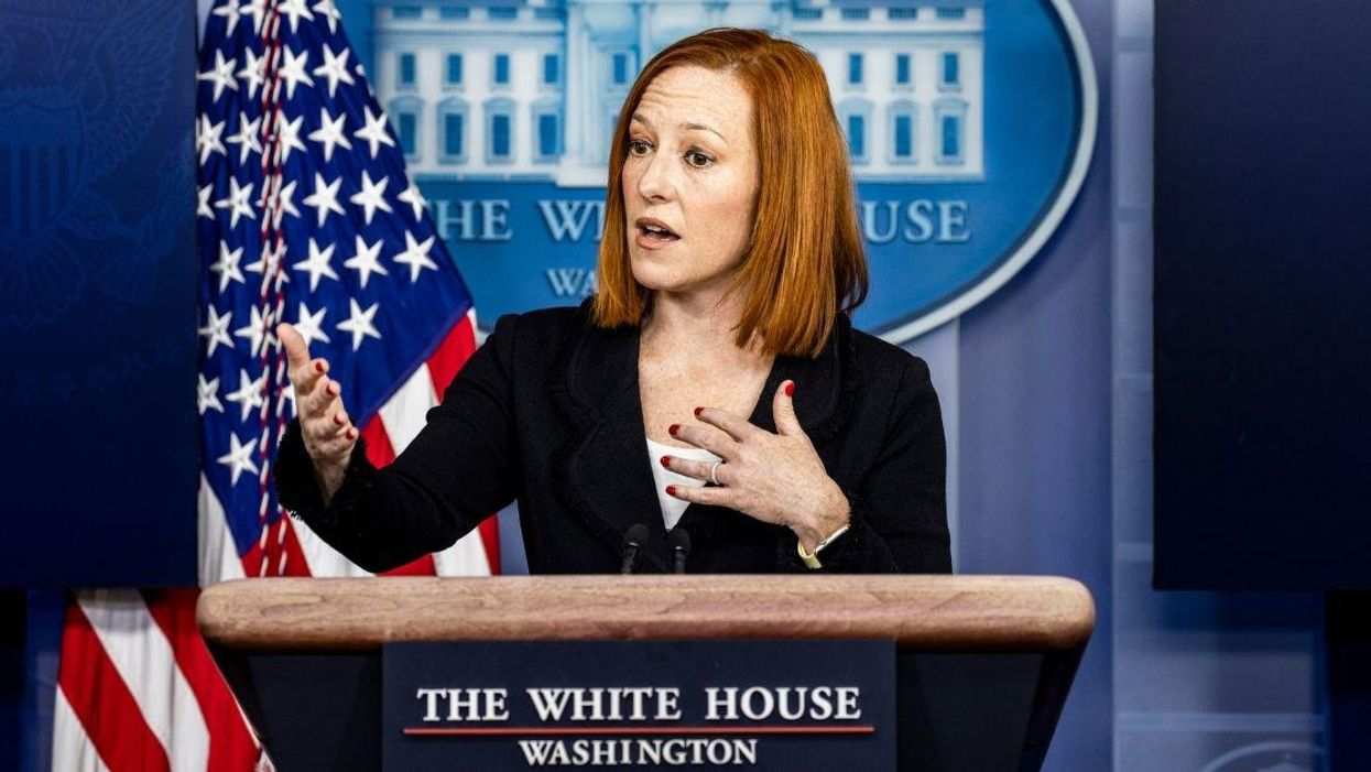 Jen Psaki Brilliantly Rips GOP For Their Hypocritical Concern The Relief Bill Will Have On The Deficit