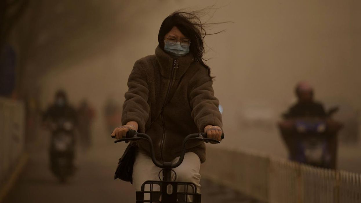 China Experiences Worst Sandstorm in a Decade